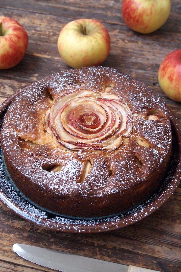 Gâteau aux pommes comme une fleur / Paris dans ma cuisine