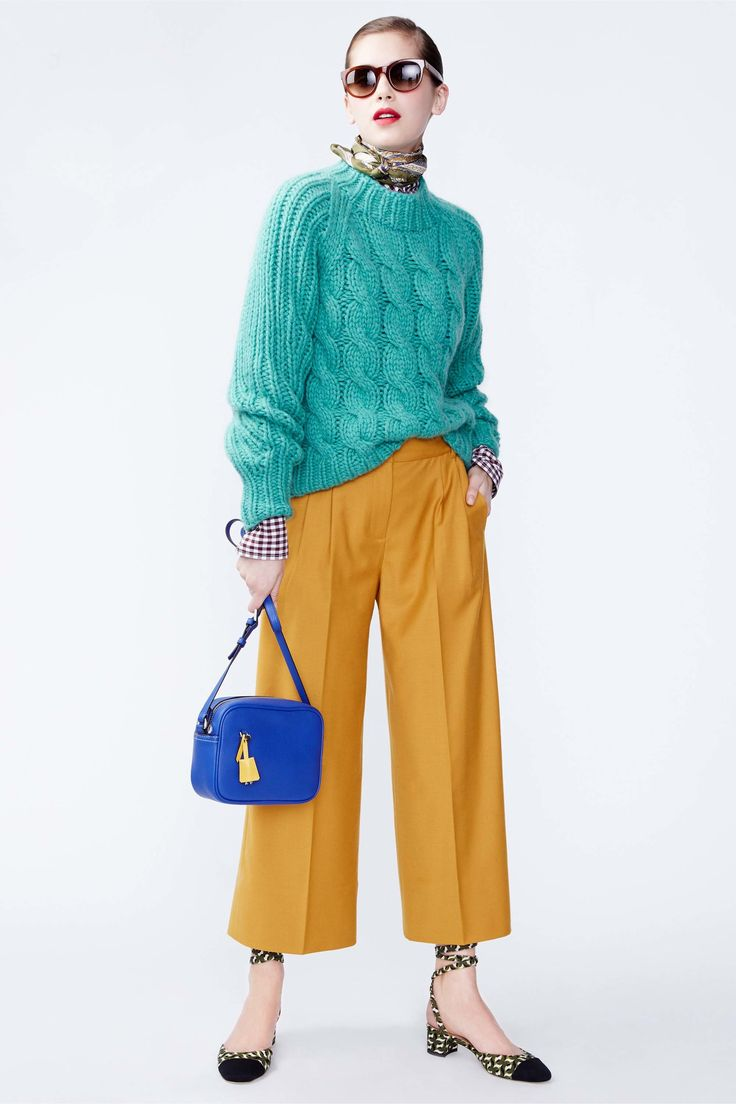 J.Crew Fall 2016 Ready-to-Wear Fashion Show. Yes, culottes aren't going anywhere anytime soon.