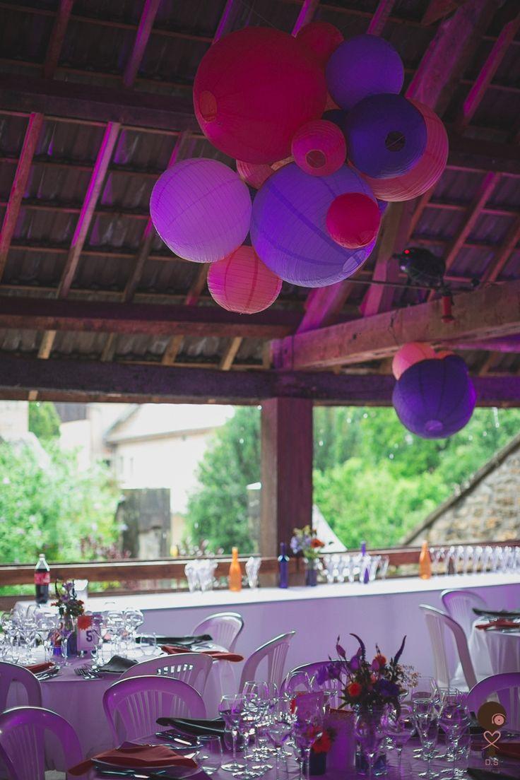 Décoration de salle, boules chinoises - Décoration DS Event / Photo by Doctib Photo