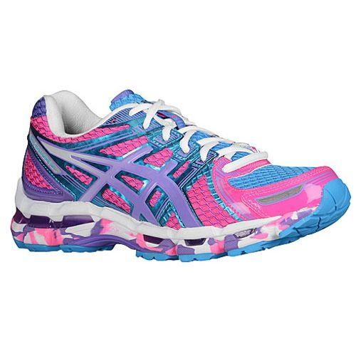 asics gel kayano 19 womens running shoes hot pink