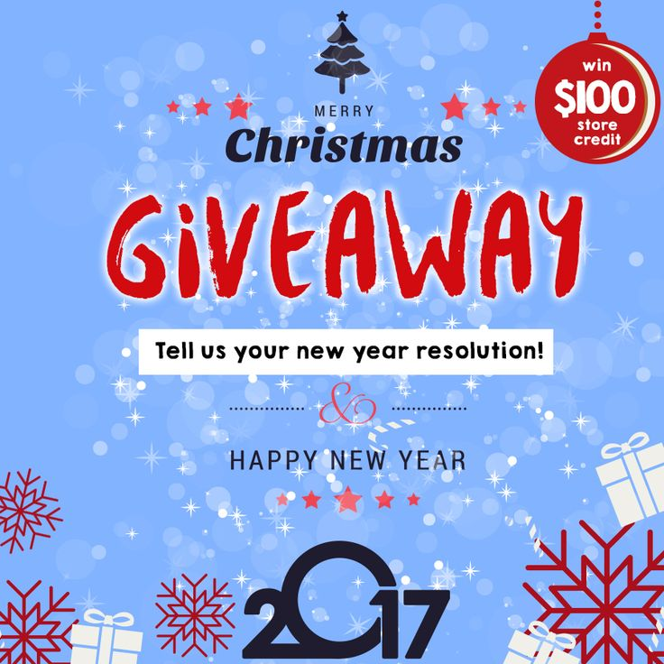 ::::Merry Christmas & Happy New Year GIVEAWAY:::: ✨🎅✨ Win $100 store credit!  Enter here 👉🏻https://www.instagram.com/p/BOPkF7oAI4D/?taken-by=pick6deals Enter until Dec. 27th,2016. Good luck! 🙈💃🏻🎉🙏