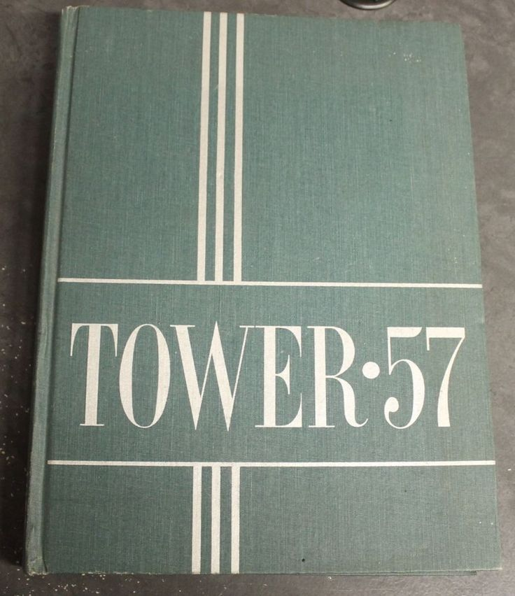 1957 University of Michigan Yearbook Annual  The Tower College Year Book