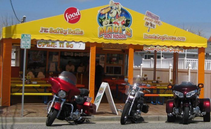 Maui S Dog House Is A North Wildwood Eatery With A Massive Fan Following New Jersey Hot Dogs North Wildwood