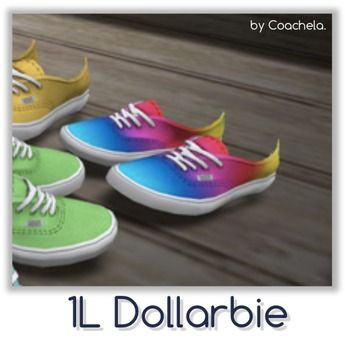 Coachela. - DOLLARBIE Canvas Shoes