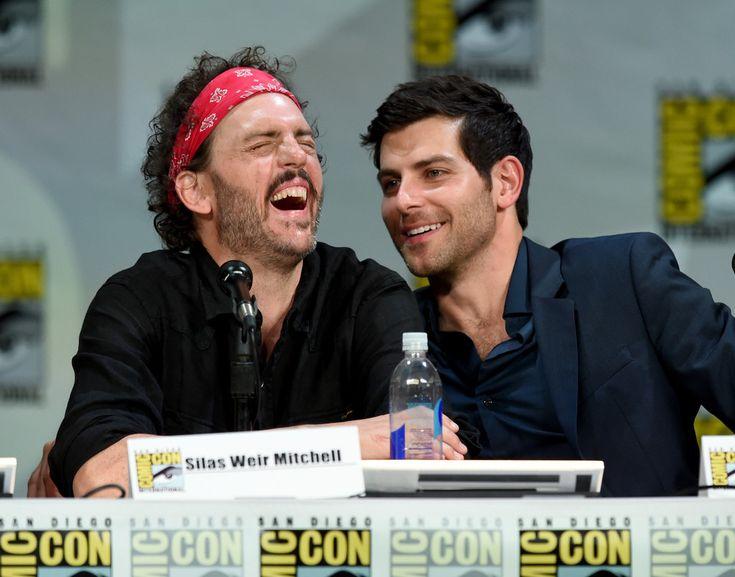 "David Giuntoli Photos: ""Grimm"" Season 4 Panel - Comic-Con International 2014"