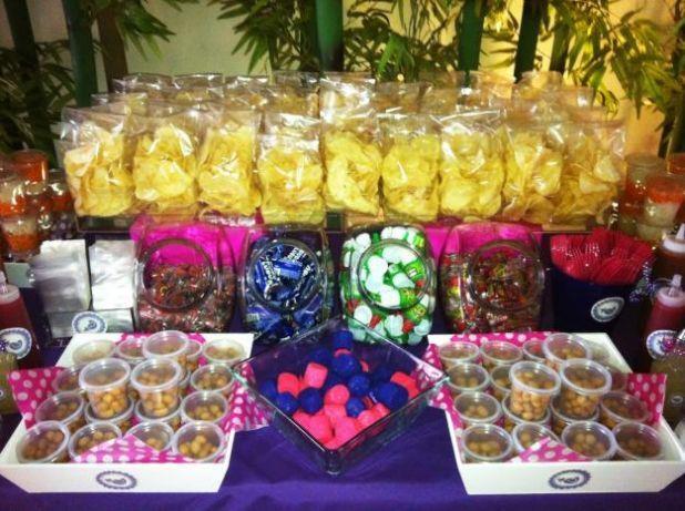 Mesa de postres postres de boda pinterest candy bars - Mesa de dulces para bodas ...