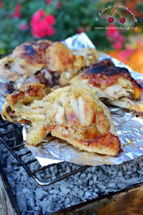pollo alla brace
