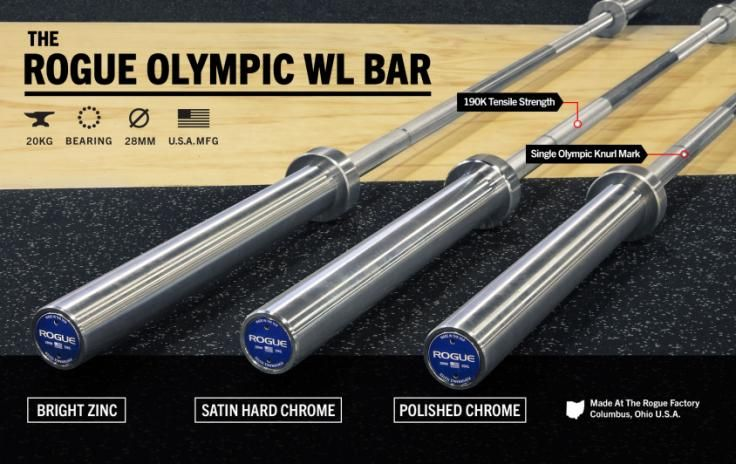 Rogue Olympic WL Bar | Rogue Fitness