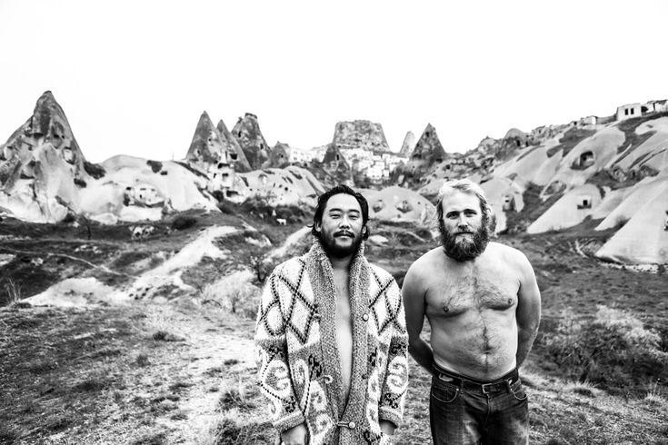 David Choe and Critter Flemming in Afghanistan Juxtapoz Magazine - David Choe: Afghanistan Tour Diary, the Outtakes- photography by Los Angeles based photographer, Estevan Oriol
