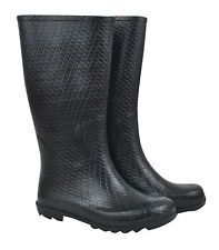 $60 NEW Black Python Design Ladies Wellies Gumboots Size 7/38 8/39 9/40 10/41 in Clothing, Shoes, Accessories, Women's Shoes, Boots | eBay