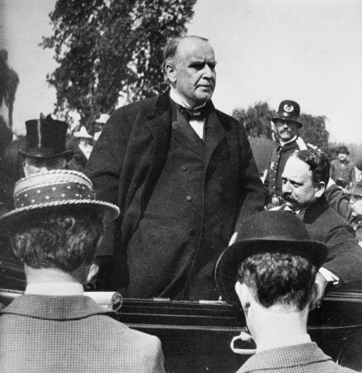 President McKinley asked for a declaration of war on April 20, 1898 by the Congress of the United States against Spain. The reluctant request by the President came in the face of United States newspaper attacks on the Spanish government for treatment of the Cuban people as well as the explosion of the USS Maine in Havana harbor the previous February which resulted in many American deaths.