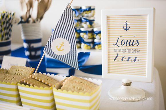 Un anniversaire marin – Louis, 2 ans