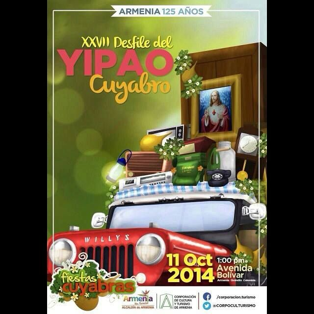 No se pierdan el desfile del Yipao en las fiestas cuyabras. 11 de Octubre 2014