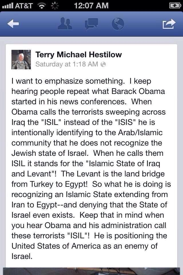 ISIL and ISIS, don't you know the difference?