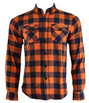 orange black buffalo plaid mens shirt | ... Shirt – Lumberjack clothing – plaid shirts - mens shirts UK