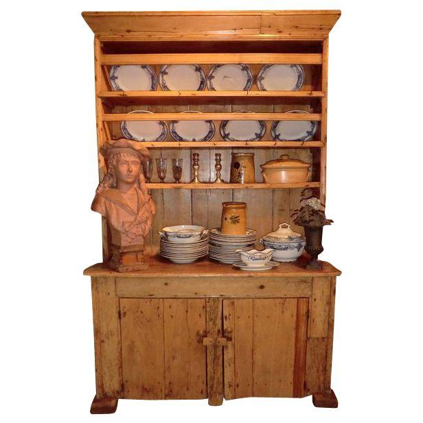 Kitchen Chairs Ireland: Small Irish Pine Kitchen Dresser