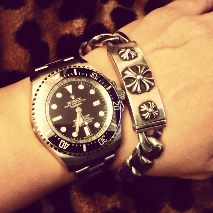 rolex x chrome hearts