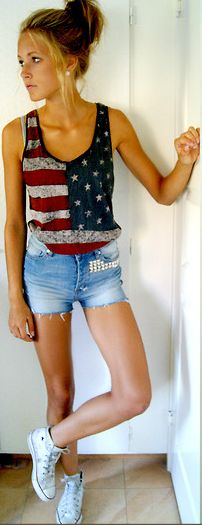 want that topTanktops, American Flags, Summer Outfit, Tank Tops, Fourth Of July, Tanks Tops, 4Th Of July, Cute Outfit, Summer Clothing