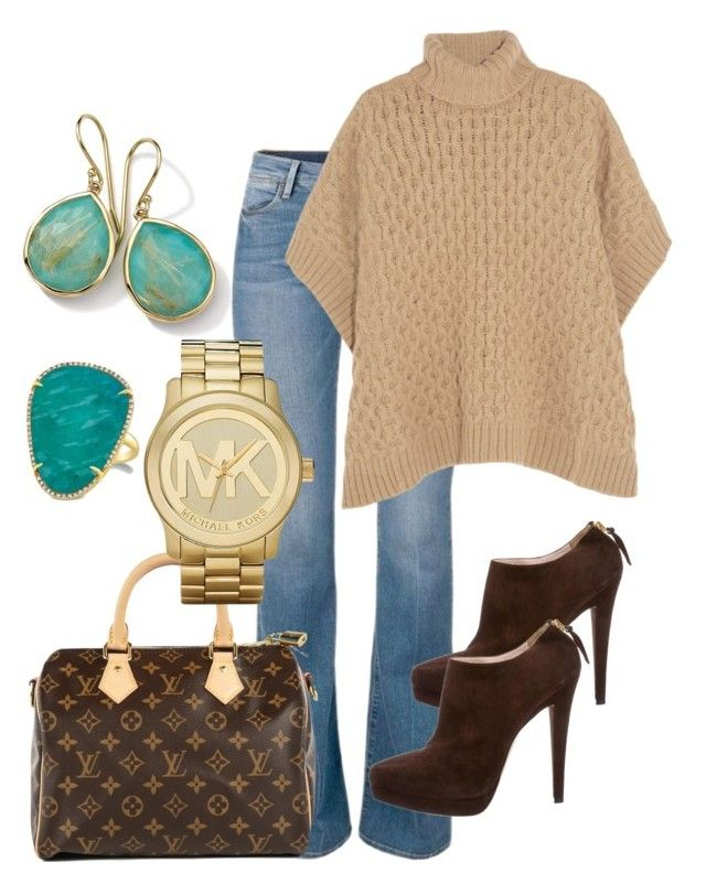 """""""Untitled #11"""" by lchrumka on Polyvore featuring MICHAEL Michael Kors, Louis Vuitton, Michael Kors, Ippolita, Miu Miu, women's clothing, women, female, woman and misses"""
