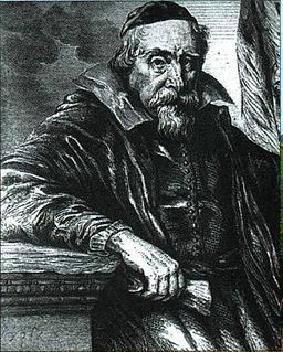 Wenceslas Cobergher (1560 – 23 November 1634), sometimes called Wenzel Coebergher, was a Flemish Renaissance architect, engineer, painter, antiquarian, numismatist and economist. Faded somewhat into the background as a painter, he is chiefly remembered today as the man responsible for the draining of the Moëres on the Franco-Belgian border. He is also one of the fathers of the Flemish Baroque style of architecture in the Southern Netherlands.