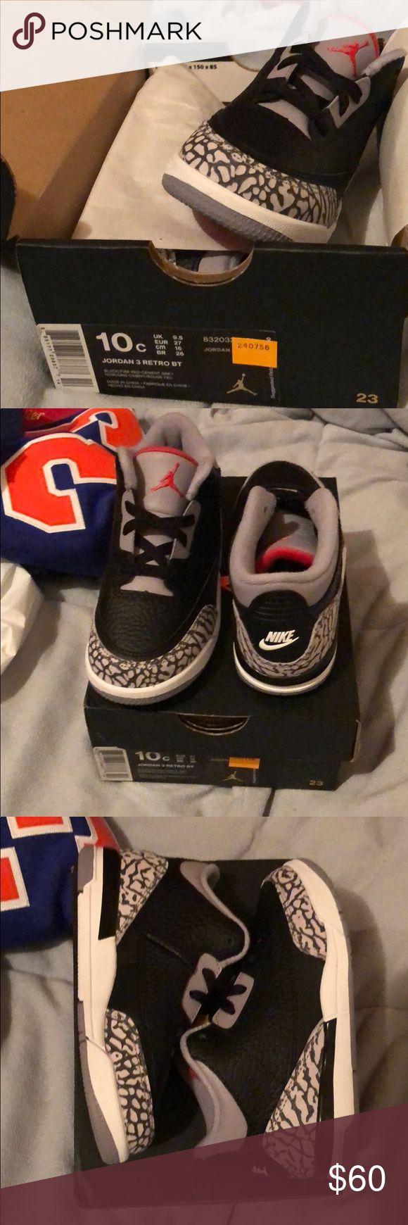 Size 10c Cement Jordan 3 OG Cement Jordan 3 OG size 10c Jordan Other