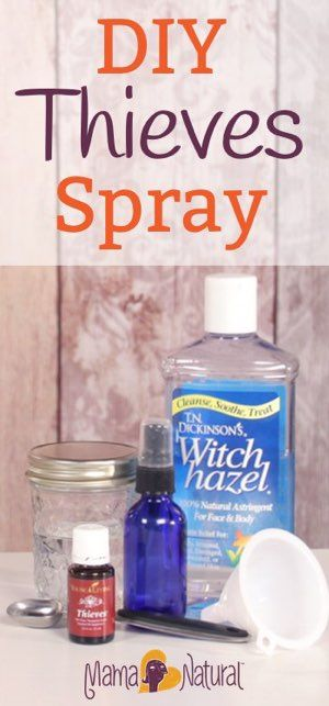 Thieves oil is a super effective bacteria killer, and can also fight mold, candida, fungus and parasites. Here's an easy way to make your own Thieves spray.