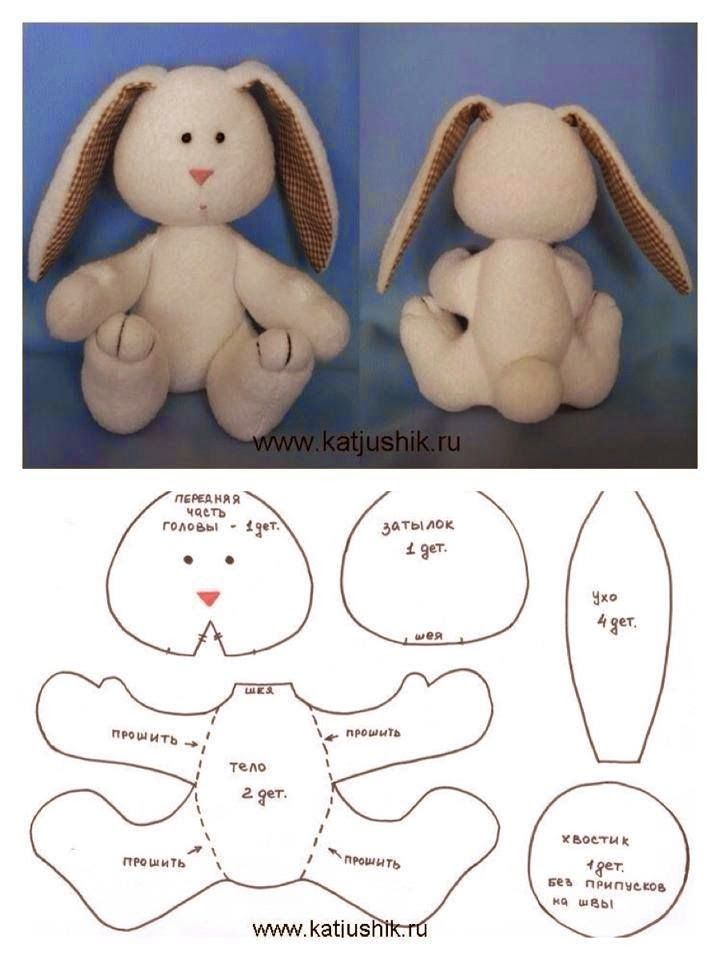 ARTE CON QUIANE - Paps, Moldes, EVA, Felt, costuras, Fofuchas 3D: REPARTO conejo sentado