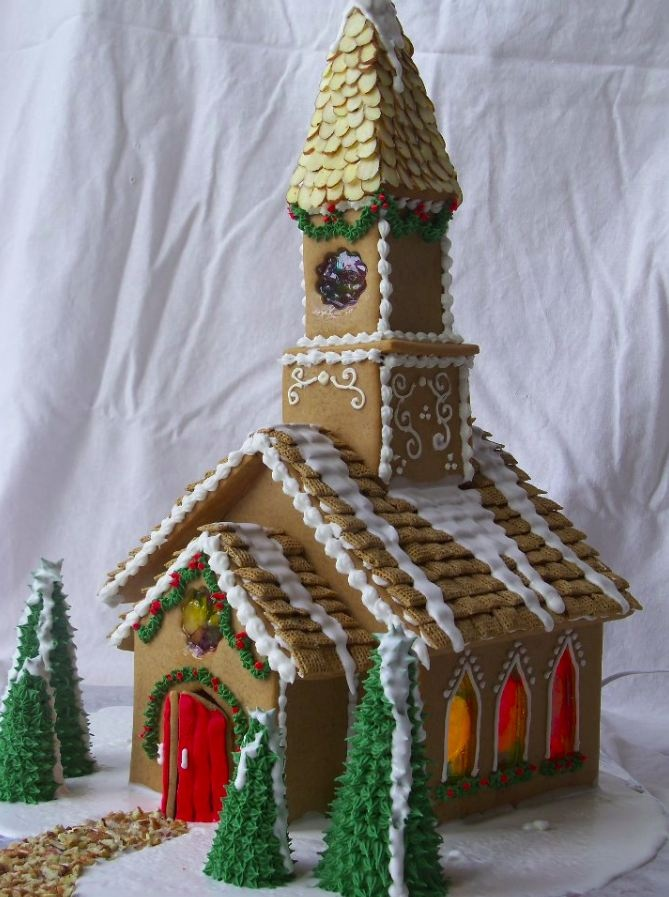 We tried an 'Open to the Public' Gingerbread competition a couple of years. It needs really good pre-publicity starting in September in order to get good participation. Can be a popular attraction and a good community event. Modest entry fee funded the prizes.