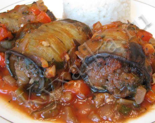 Кухарка: домашняя кухня, видео, кулинария, рецепты, советы, фото| Трубочки из баклажанов с говядиной и овощами