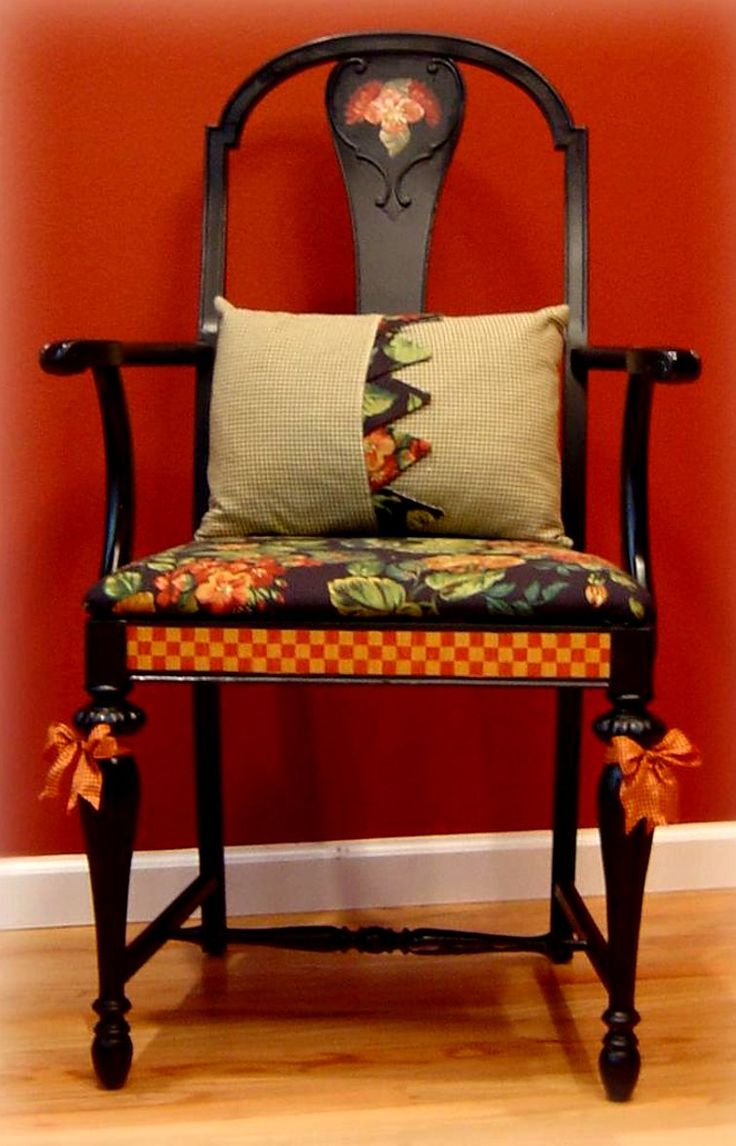 hand painted chair 656 best Chairs tables