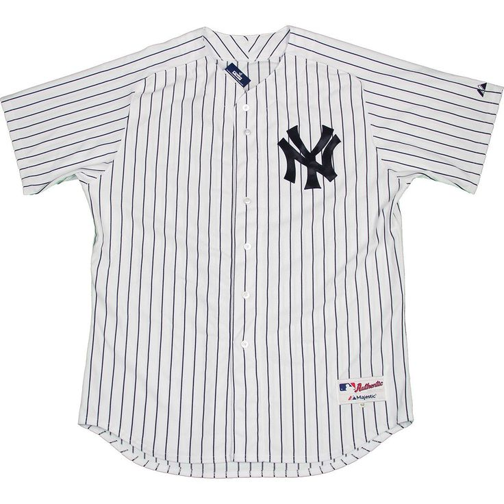 Majestic Authentic New York Yankees White Home Jersey (M) - Bulk Size 40 - This is an jersey. It is perfect for fans to wear to games and autographs alike!. Gifts > Licensed Gifts > Mlb > New York Yankees. Weight: 1.00