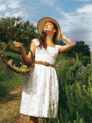 Schnittmuster: Sommerkleid - weiter Halsausschnitt - Sommerkleider - Kleider - Damen - burda style
