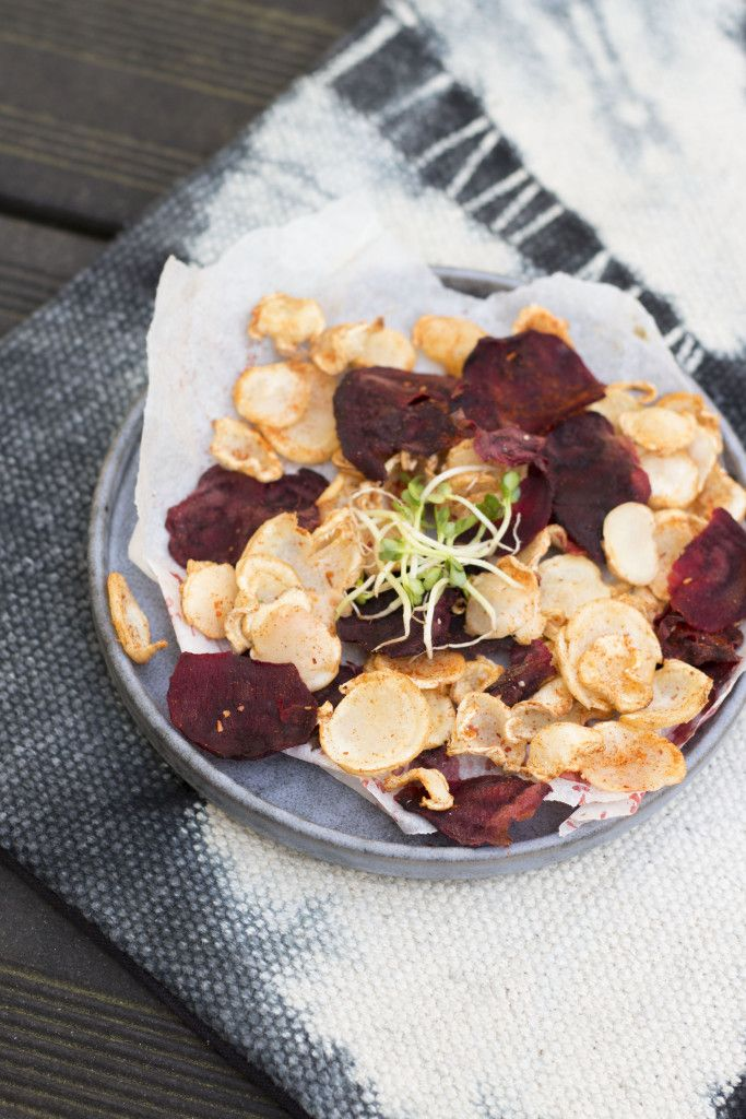 Lekkere healthy en hartige chips!   The Green Happiness