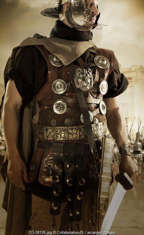 Roman centurion © CollaborationJS / Arcangel Images