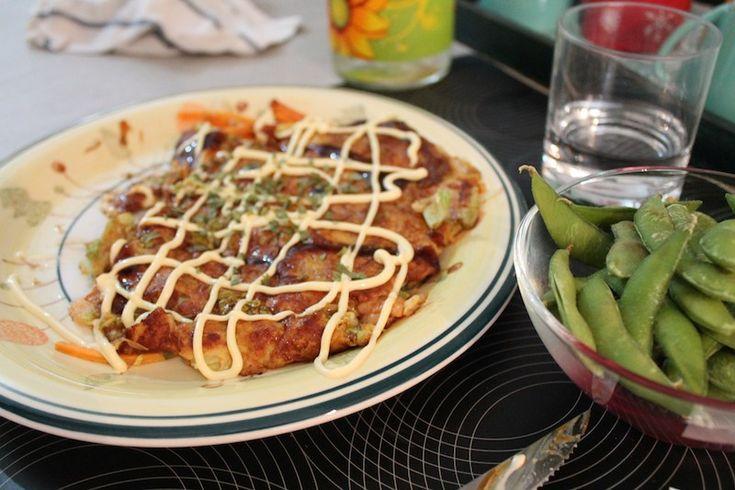 la ricetta dell'okonomiyaki
