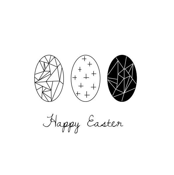 Happy Easter - Free printable Lotjedotje