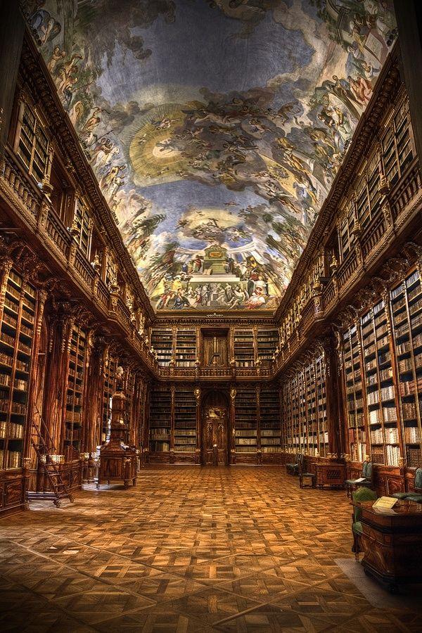 Strahov Monastery Library - Prague, Czech Republic