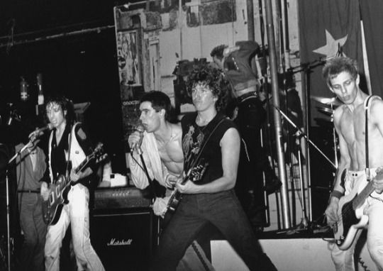 The Clash are joined on stage by Jimmy Pursey of Sham 69 & Steve Jones of…