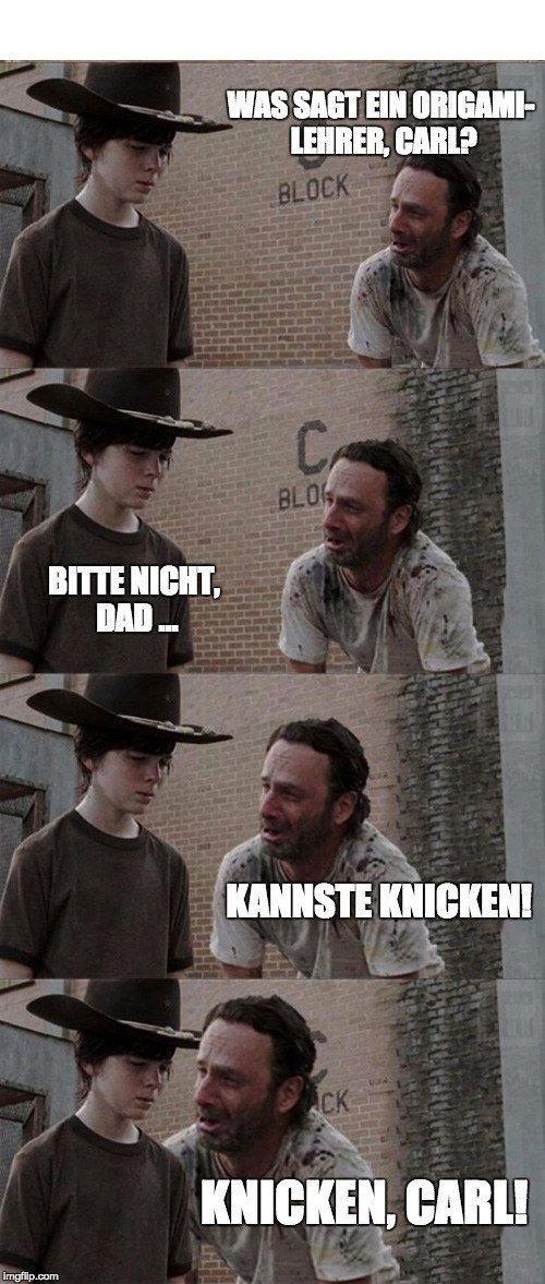 Bitte nicht, Dad ...