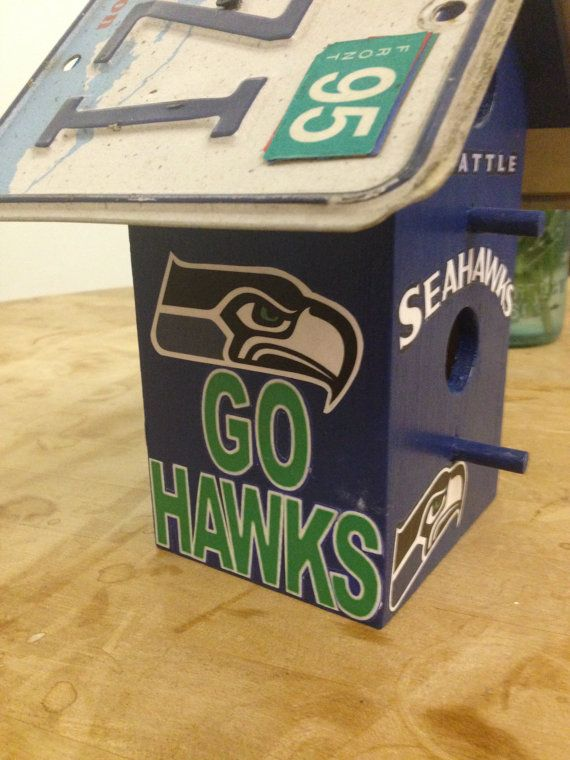 Seattle Seahwaks Superbown Champions by UniversityBirdhouse