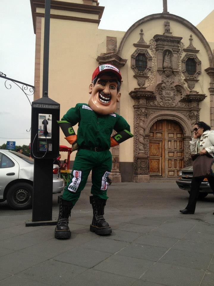 Paseando en el Centro Histórico de San Luis Potosí.