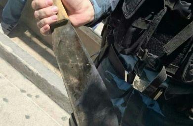 GOE encaminha ao 34° DP homem que ameaçou matar fiscal da Prefeitura - 29/09/14, em Fortaleza