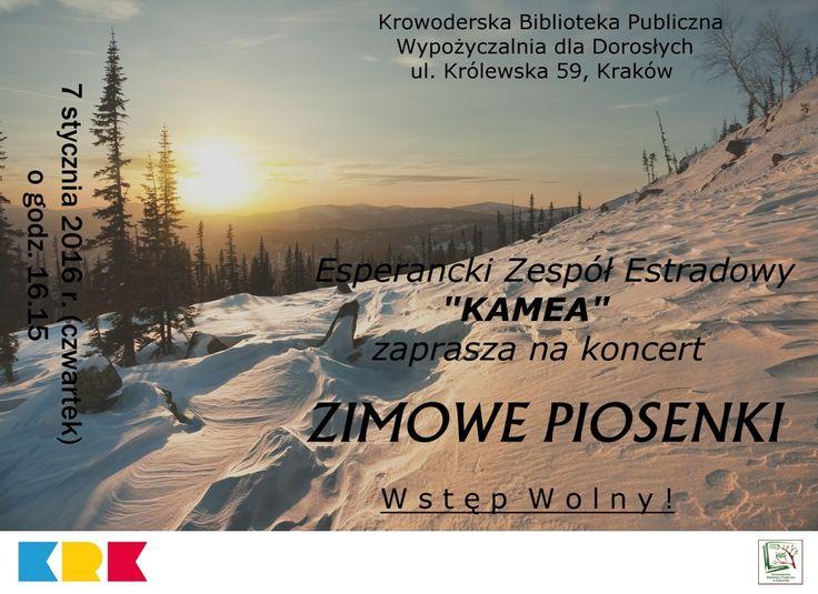 Koncert | Krowoderska Biblioteka Publiczna w Krakowie