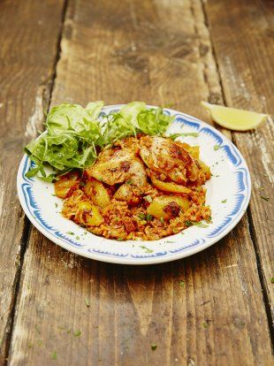 Baked rice with chicken & chorizo | Jamie Oliver#KfLtc2mAzRWVaa0W.97#KfLtc2mAzRWVaa0W.97#KfLtc2mAzRWVaa0W.97