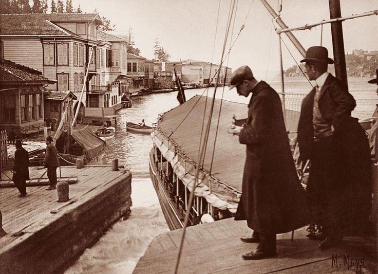 1900-lar Kanlıca İskelesi
