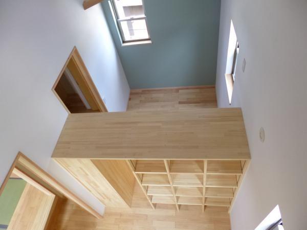 子供部屋事例:家具で間仕切り1(市川市Kさんの家新築工事)