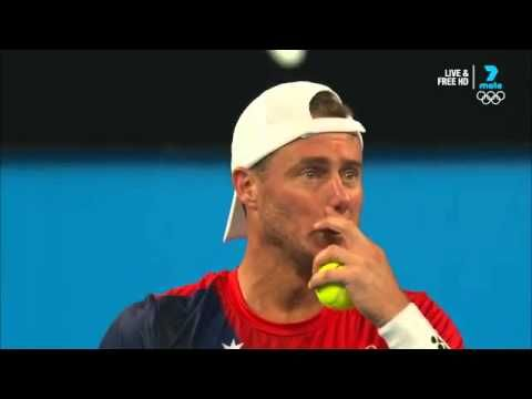 Sock tells Hewitt to challenge at the Hopman Cup; a show of good sportsmanship