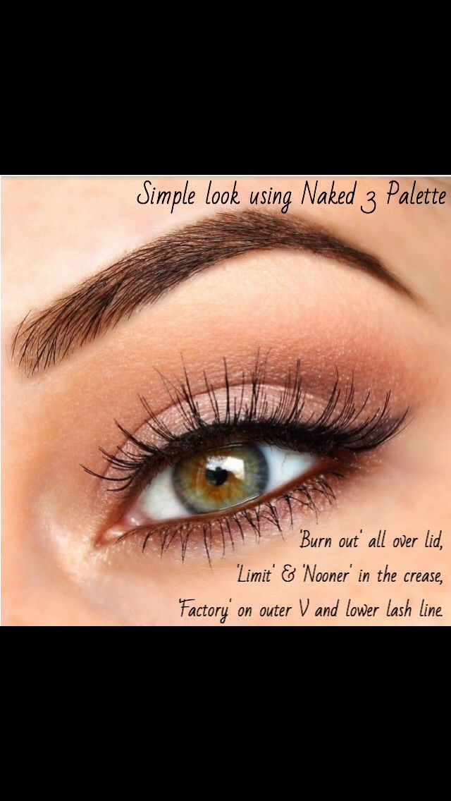 Naked Eyes Neutral Eyeshadow Guide: 17 Best Ideas About Baby Doll Makeup On Pinterest