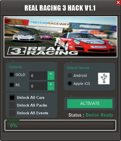 Real Racing 3 Hack Tool Herunterladen