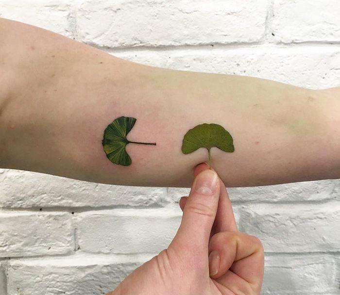 """Les Tatouages botaniques de Rita """"Rit Kit"""" Zolotukhina"""